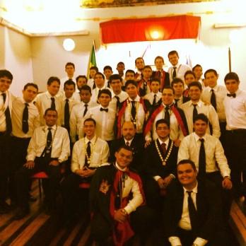 Reunidos para foto do final de sessão, neste último domingo, 24 de fevereiro de 2013.