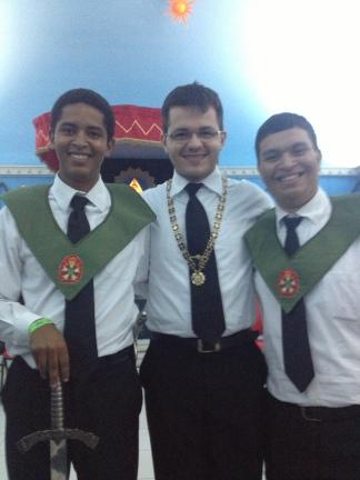 Esses caras suaram a camisa para fazer o EFOC acontecer. Parabéns pelo sucesso, Marcellus e Nickolas!