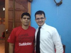 Este é o Ir. Marcelo, filho do Ir. Marcelo Serqueira! Lembra muito o pai... Enfim, um grande Irmão e amigo. Uma honra tê-lo conhecido!