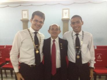 """Com o tio Almeidinha, o """"Mansur"""" do Piauí!"""