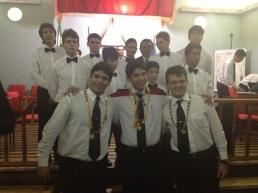 Com os 09 Iniciáticos do Cap Prof Carvalho Neves, nº 500