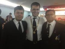 Com o Tio Higo Matos (Presidente do Conselho Consultivo) e Tio Waldemar Higino, ex-GME do Piauí
