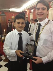 Ir. Mateo, MCN, também recebeu o reconhecimento