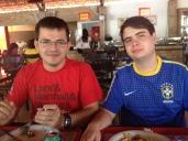 Almoço em Teresina com o Ir. MCN